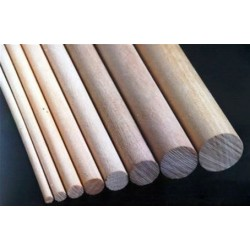 Ramin hardwood Dowel 4x1000 mm