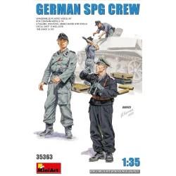 German SPG Crew 1/35