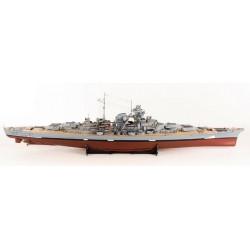 Corazzata Bismarck in legno...