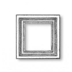 Gunport frame fits 8x8 mm hole