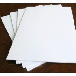 White Forex Sheet 300x500x4 mm