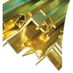 Brass profiles T section...