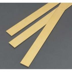 Brass strip 500x3x0,5 mm