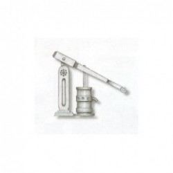 Single brass pump with...
