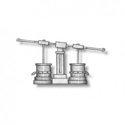 Double brass pump with...