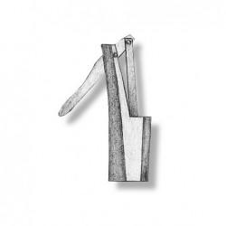 Single metal hand pump 18 mm