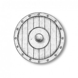 Viking Ship Oar Shield 20 mm