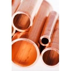 Copper tube mm 500x 1,1 int...