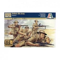 2nd WW BRITISH  8th ARMY 1/72