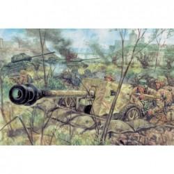 2ND WW GERMAN PAK40 AT GUN...