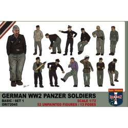 German Panzer soldiers WWII...