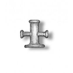 Stag horn bollard brass 7 mm