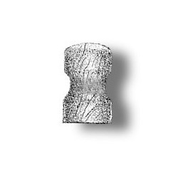 Single bollard wood 5 mm