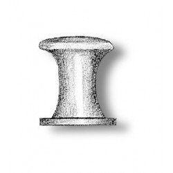 Single Bollard brass F type...