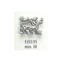Decorazione in metallo 10 mm