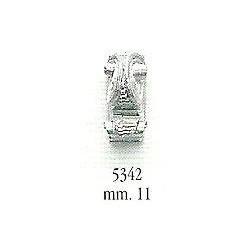 Decorazione in metallo 11 mm