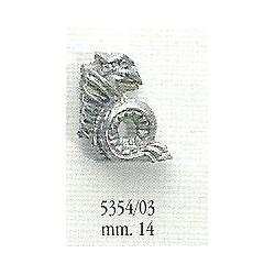 Decorazione in metallo 14 mm