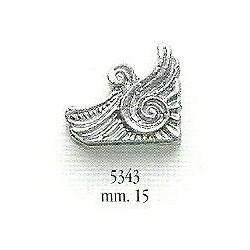 Decorazione in metallo 15 mm