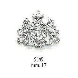 Decorazione in metallo 17 mm