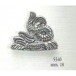 Decorazione in metallo 18 mm