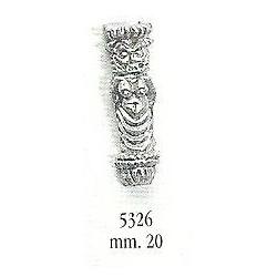 Decorazione in metallo 20 mm
