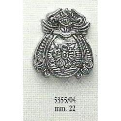 Decorazione in metallo 22 mm