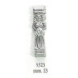 Decorazione in metallo 23 mm