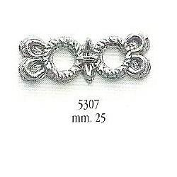 Decorazione in metallo 25 mm