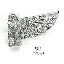 Decorazione in metallo 30 mm
