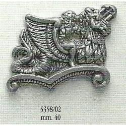 Decorazione in metallo 40 mm