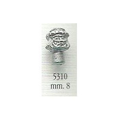 Decorazione in metallo 8 mm