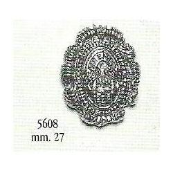 Polena in metallo stemma