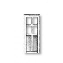 Metal Door 4 Panes and 2...