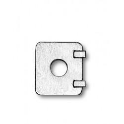 Portello in metallo 11 x 12 mm