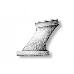P Bracket Cast Metal 15 mm