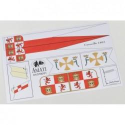 Spanish Caravelle Flag set