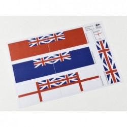 Bandiere per flotta inglese...