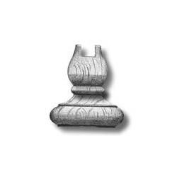 Colonna in legno alta 28 mm