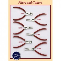 Flat nose pliers