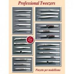 Tweezer long straight thin