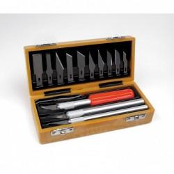 Knife set scatola con 13 pezzi