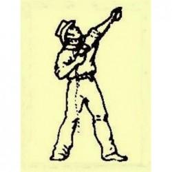 Cast metal sailor crewman...