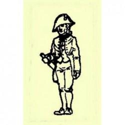 Cast metal sailor officer...