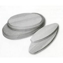 Basamento ovale in legno...