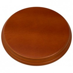 Polished Hardwood Round...