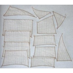 Flattie sail set