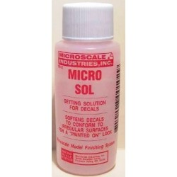 Micro Sol setting solution...