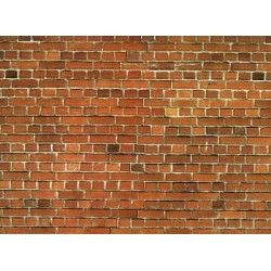 Muro in carta tipo mattoni HO