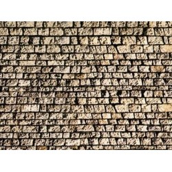 Muro in carta tipo pietra