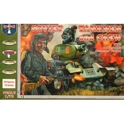 Soviet Tankmen and Crew...